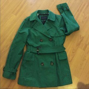Banana Republic green coat